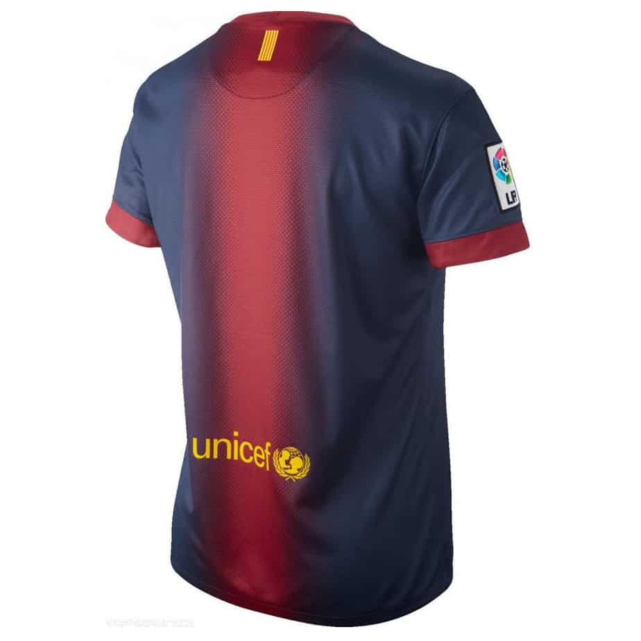 Fc Barcelona Nike Home Womens Football Shirt 2012 13
