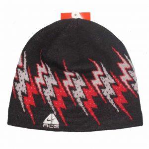 Nike ACG Unisex Acrylic Black Rider Scull Beanie Hat 47b07b6f01ea
