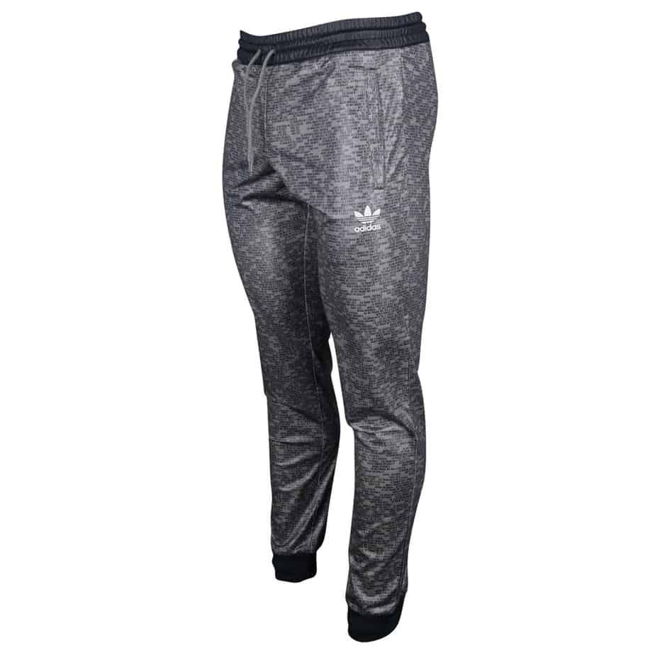 adidas Grey Track Pant ES Slim Fit Superstar Tracksuit ...