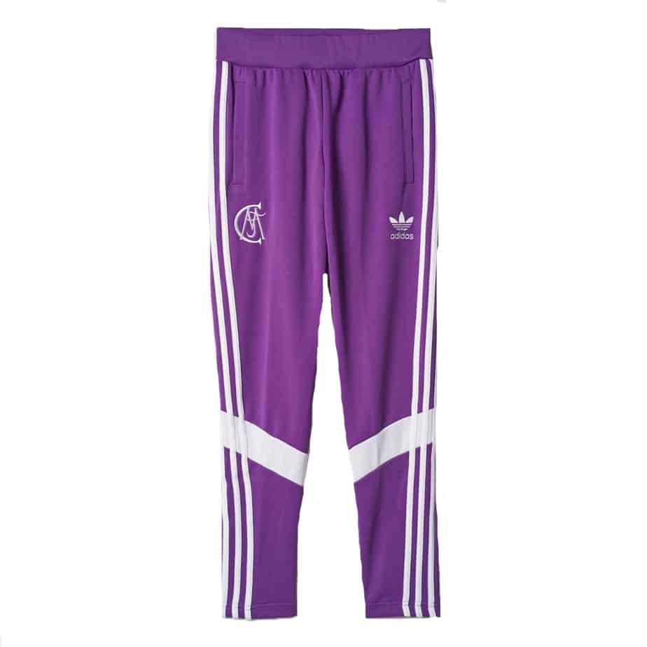 adidas Originals Real Madrid Mens RM Retro Purple Track Pants