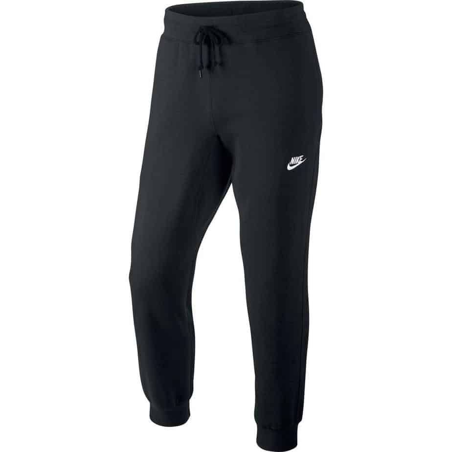 3d93d55b5ddd Nike Mens Black Cuffed FLC Tracksuit Bottoms - Exclusive Sports